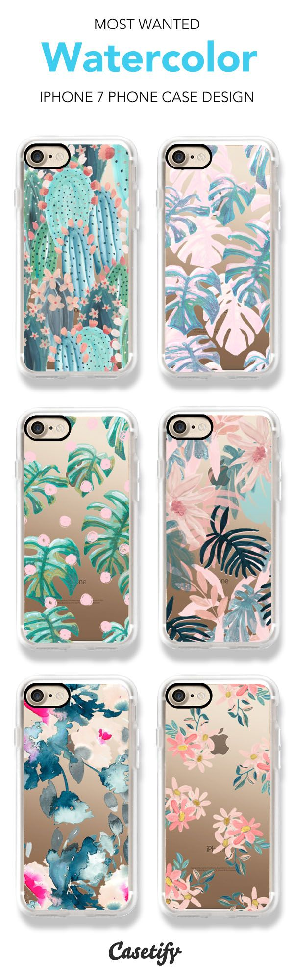 Most wanted Watercolor iPhone 7 and iPhone 7 Plus case @designlovefest Shop them all here > https://www.casetify.com/artworks/rd9xaSvIqP