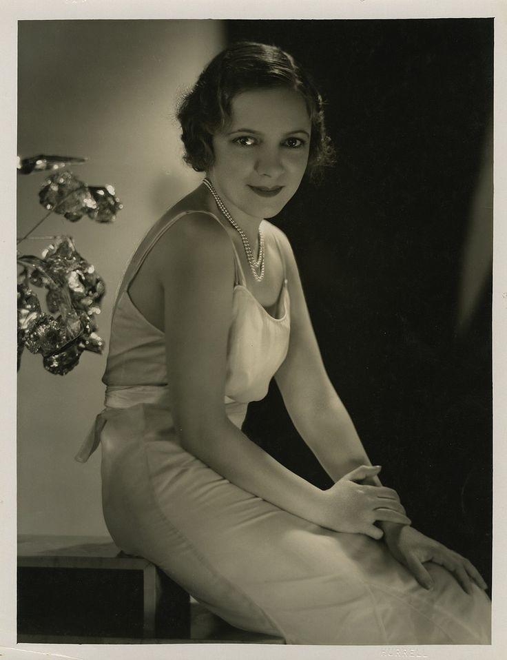 Helen Hayes - Photo by George Hurrell from The Sin of Madelon Claudet