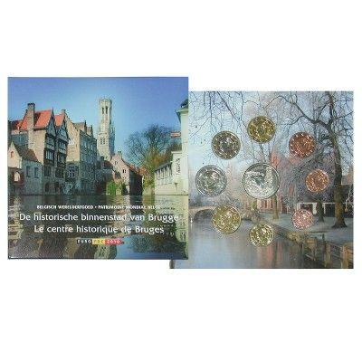 Belgien, Königreich, Albert II., Euro-Kursmünzensatz 2010, st: Albert II. 1993-2013. Euro-Kursmünzensatz 2010. 8 Münzen - 1 Cent bis… #coins