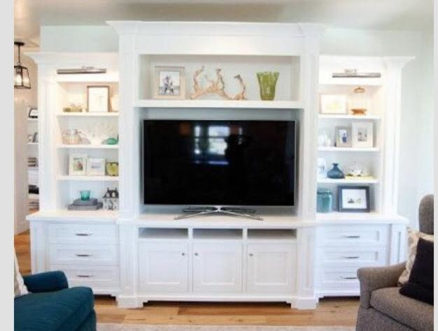 Best 25 White Tv Cabinet Ideas On Pinterest
