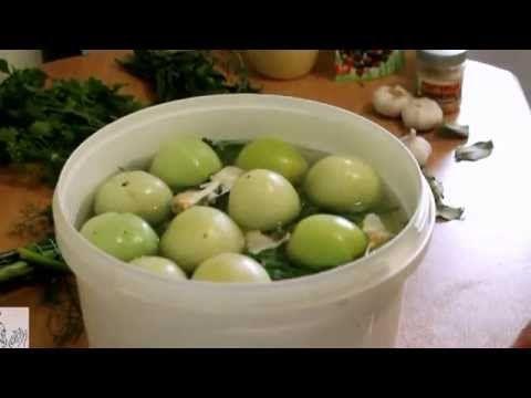 (21) Квашеные,бочковые помидоры - YouTube