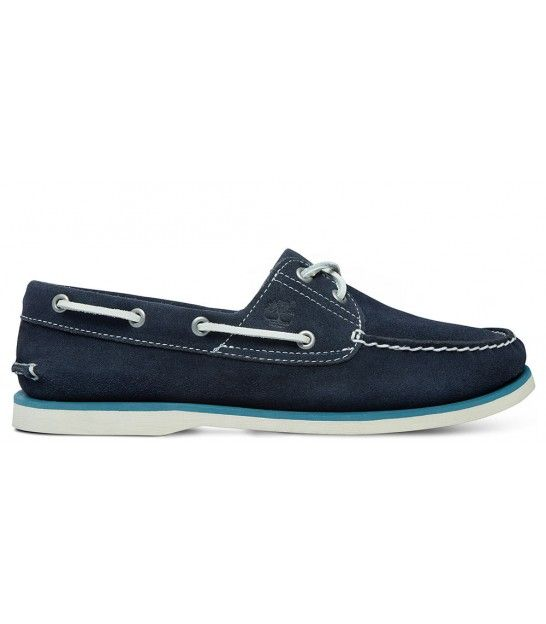 TIMBERLAND NAUTICO CLASSIC BOAT NAVY SUEDE