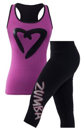 zumba gear!! So thinking how my friend would rock this outfit in her class.