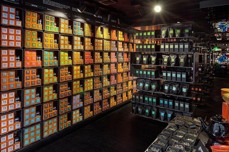 Landini associe magasin de marque de thé international