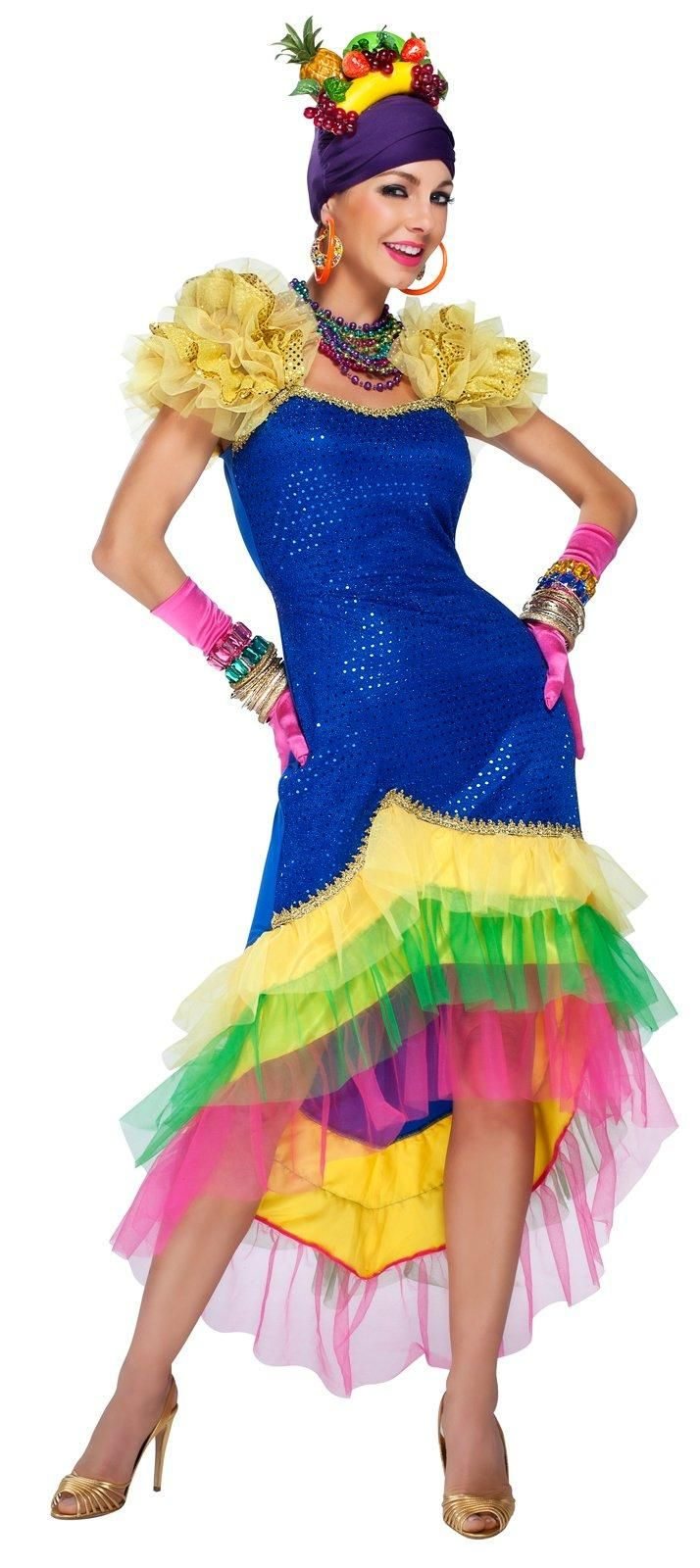 Carmen Miranda Adult Dance Costume from Buycostumes.com