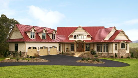 Best The Blue Ridge Plan 1130 D This Rustic Hillside Walkout 400 x 300