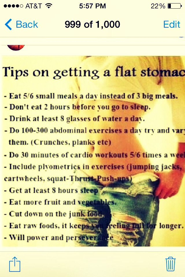 Facts For Flat Belly ........