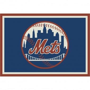 Milliken MLB Spirit New York Mets Baseball Rug   P/#533324 C/