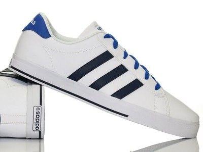 Buty męskie Adidas Daily F98330 BIAŁE
