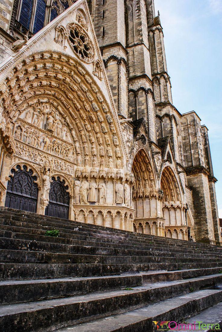 Bourges - Façade de la Cathédrale