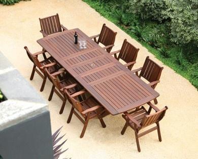 Jensen Jarrah Hardwood Furniture Outdoor Patio Furniture Teak Patio Furniture Outdoor Furniture