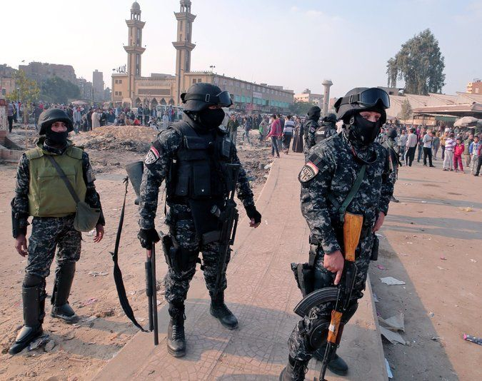 6 Are Killed in Egypt After a Call for Protests Rattles the Authorities - NYTimes.com