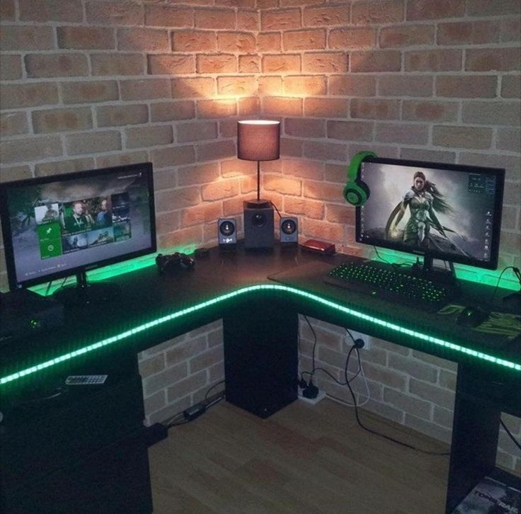 Cable management is pretty bad on this setup but the led lights actually look pretty dope for once! Do you guys like them? Owner: @9illest Rating: 8/10 Comment what you think about the setup in order to make this sweet setup even better! Check out the link in the description to see my recommended product of the day! All sales help benefit this channel. Wanna play some steam games with me?! Add me! Steam name: cleansetups #l4l #gaming #pc #pcmasterrace #gamingsetup #ff #xbox #playstation…