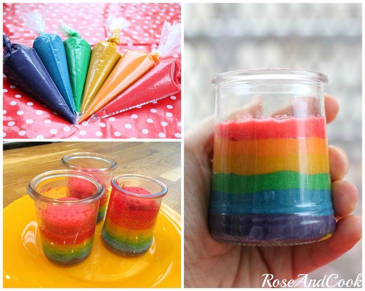 Recette gateau anniversaire rainbow cake