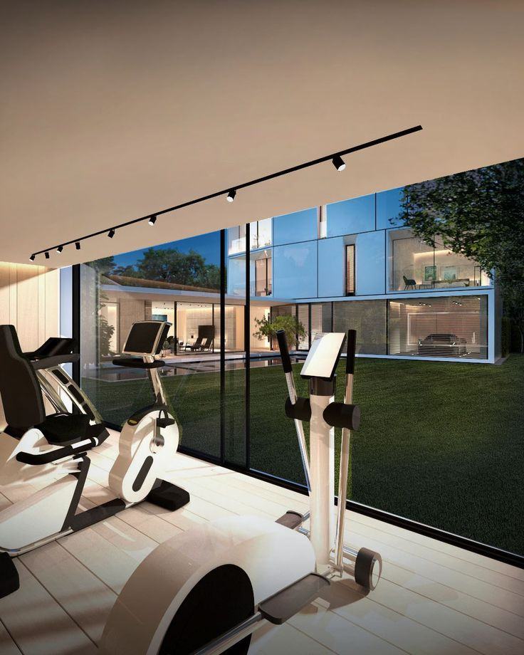 Jm Architecture N 5 Gym Room At Home House Gym Architecture