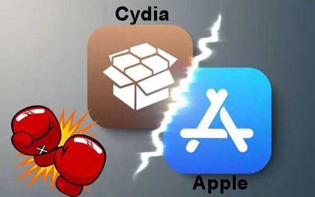 هاي فور تك متجر سيديا Cydia الخاص بالجلبريك يرفع دعوى قضائية Apple Enamel Pins Pin