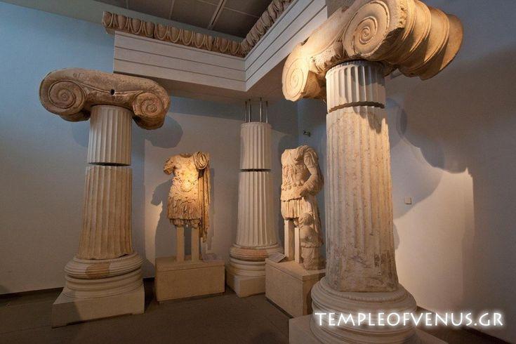 The temple of Aphrodite, 6th century BC, Thessaloniki, Greece