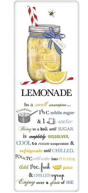 Mary Lake-Thompson Lemonade Recipe Towel
