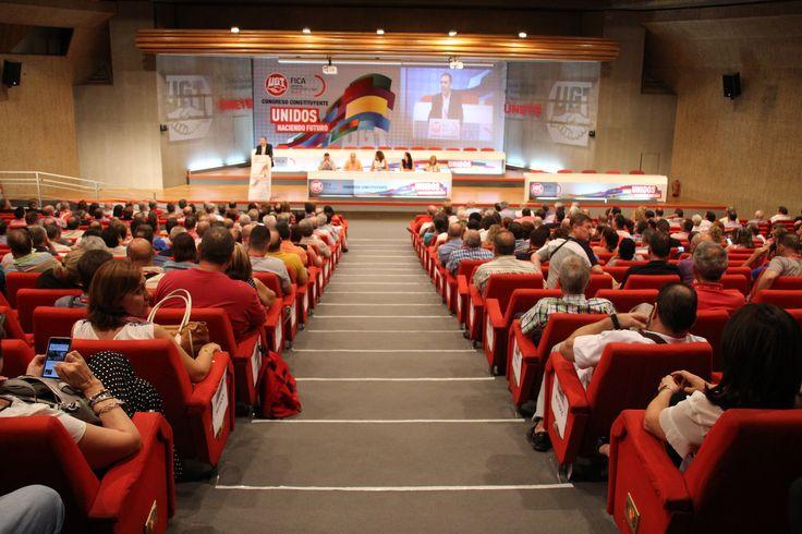 Congreso constituyente de UGT FICA Madrid
