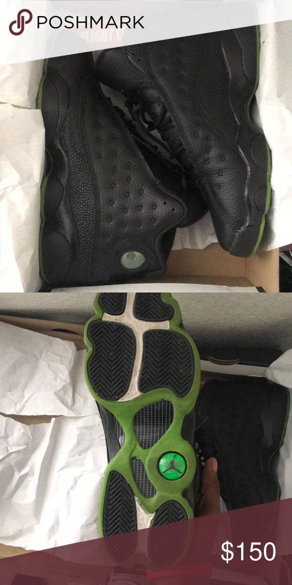 Retro 13 Altitude's Size 6.5y Worn Less than 10x fairly still a brand new shoe ***Got from Flight Club*** Jordan Shoes Sneakers