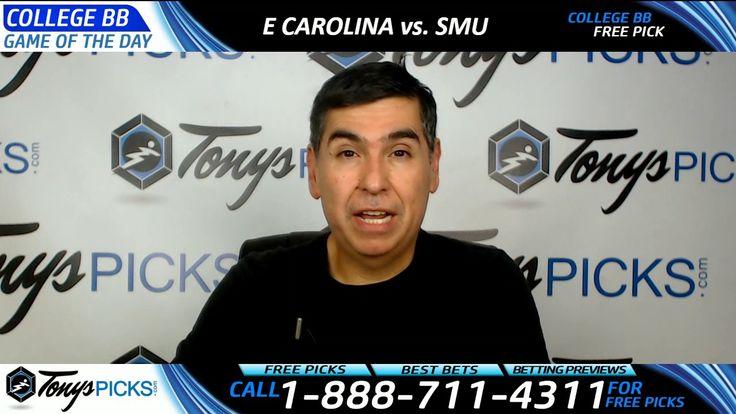 East Carolina vs. SMU Free NCAA Basketball Picks and Predictions 3/10/17