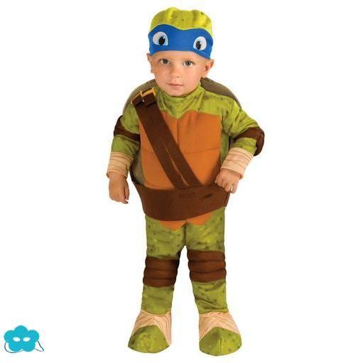 Disfraz de Leonardo tortugas Ninja para bebé