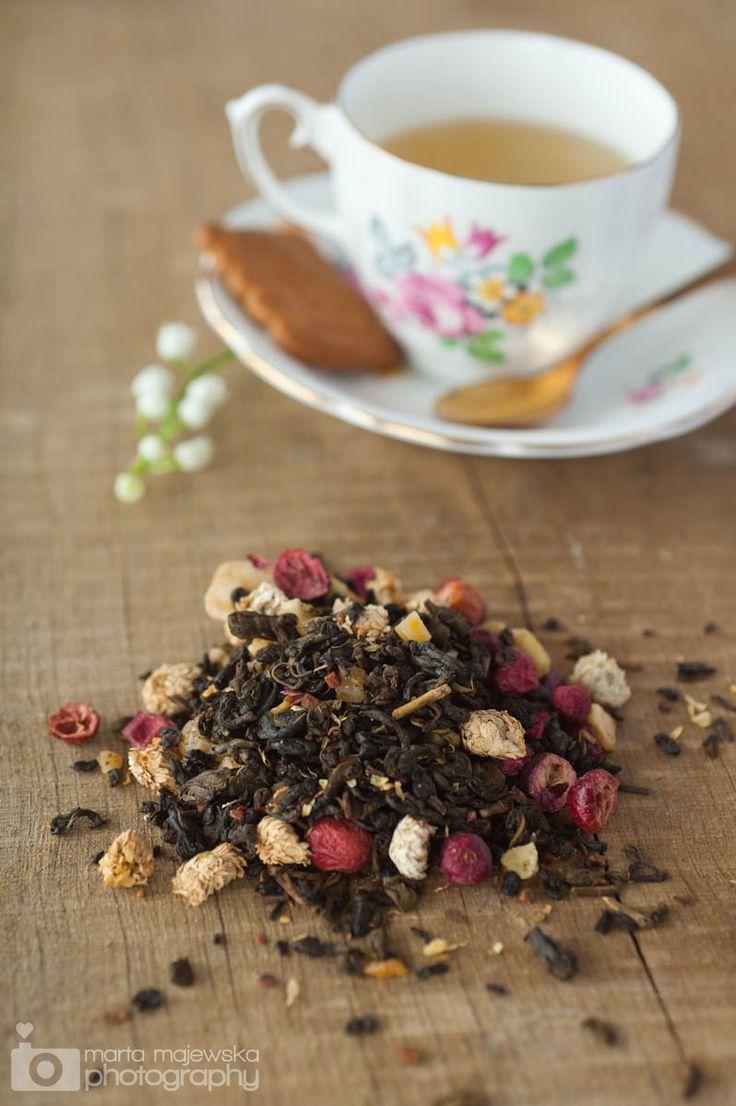 DIY Tea Blends: Recipes for Flowery Berry Tea, Green Lemon Tea, & Orange Cinnamon Tea / princessmisia.com...