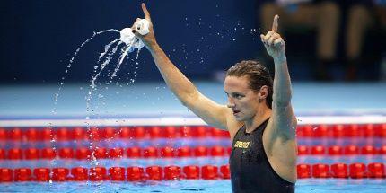 Forrás: MTI/EPA/Patrick B. Kraemer: Hosszú Katinka bődületes világcsúccsal olimpiai bajnok