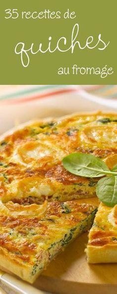 35 recettes irrésistiblement gourmandes de quiches au fromage