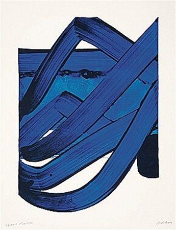 Sérigraphie N°18 par Pierre Soulages