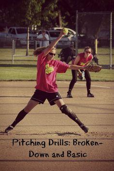 Softball Pitching Drills: Broken-Down and Basic : Softball Spot