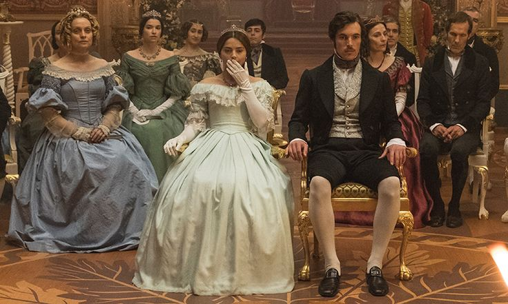 jenna coleman as victoria announces her pregnancy  u2013 and viewers go wild