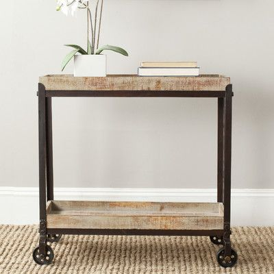 Safavieh Sally Rolling Console Table