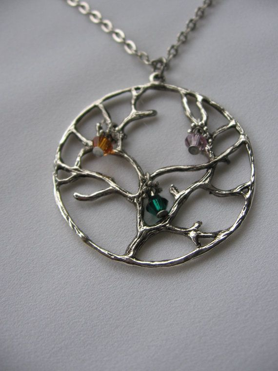 Tree of Life  Customized Birthstones  Family Tree  by Thielen, $15.00