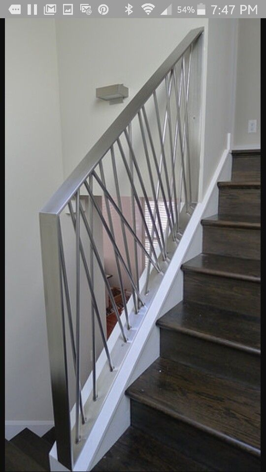 Modern Stainless Staircase Railing Modern Home Interior Ideas Pinterest Railings
