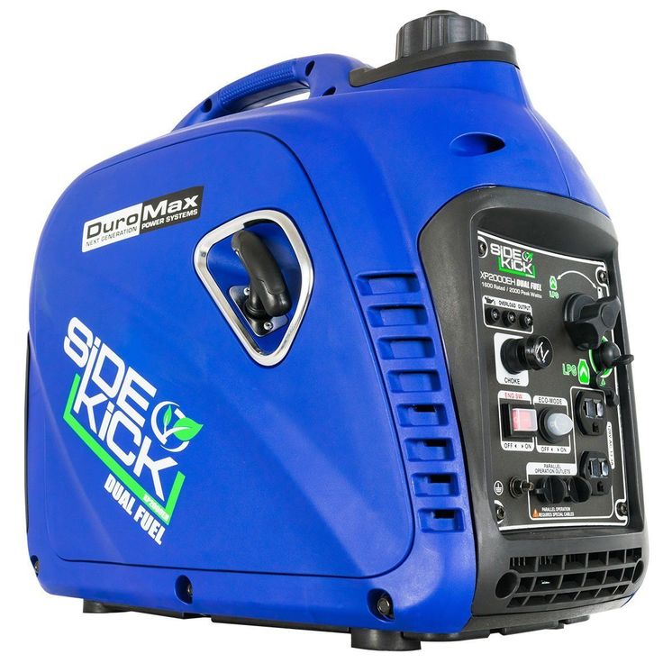 DuroMax XP2000EH Dual Fuel Generator Blue NO Tax Free Shipping Brand New