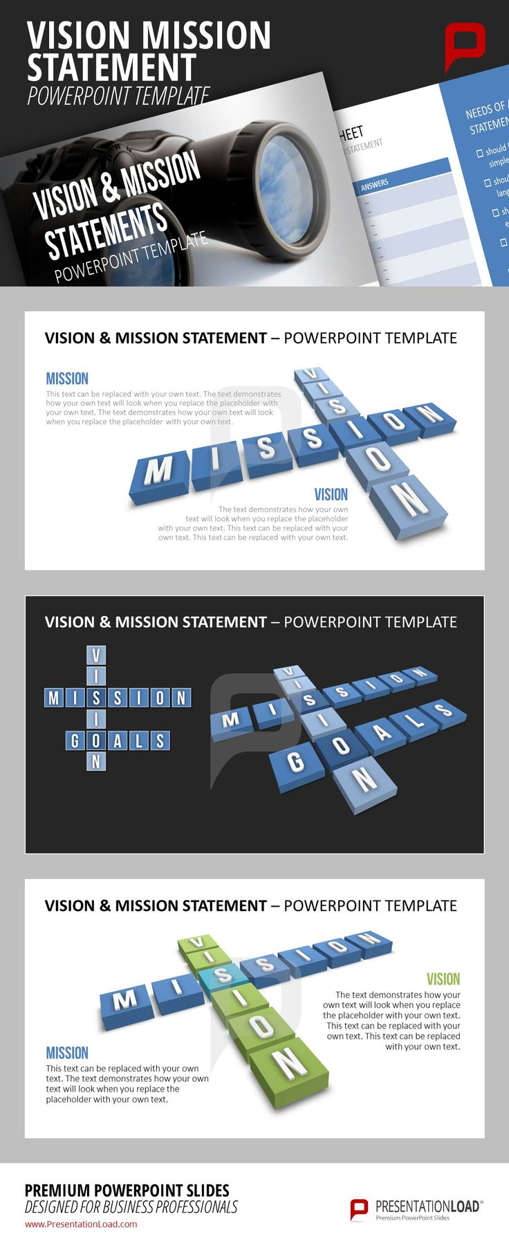 73 best company presentation powerpoint templates images on present your companys vision and mission with the help of our modern cross word puzzle templates toneelgroepblik Gallery