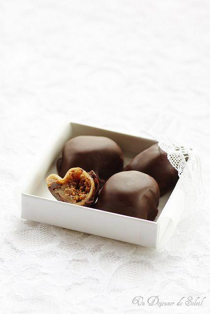 Fichi al cioccolato / Figues au chocolat (recipe in italian and french)