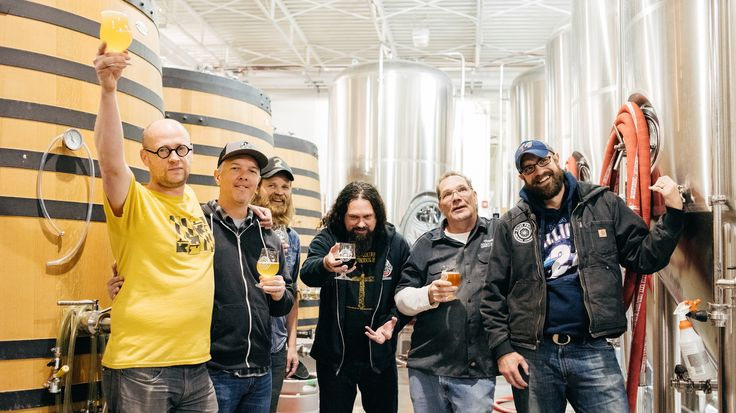 Maximum Hops Yield Maximum Results: Making Beer With Sunn O))) #beer #craftbeer #party #beerporn #instabeer #beerstagram #beergeek #beergasm #drinklocal #beertography