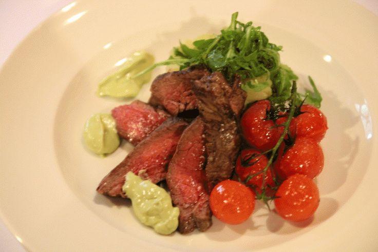 "Grilovaný ""Flank steak"" #food"