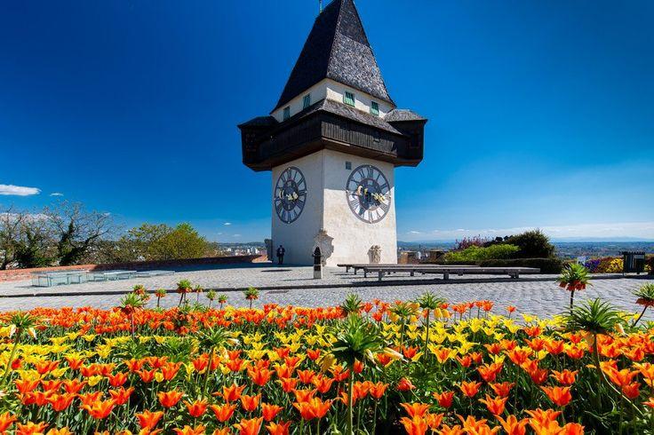 Uhrturm. (c) Graz Tourismus-Fotograf