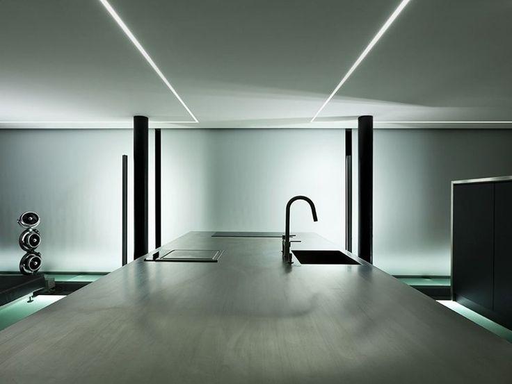 Lineares Einbau- LED Lichtleiste BROOKLYN TRIM by PANZERI