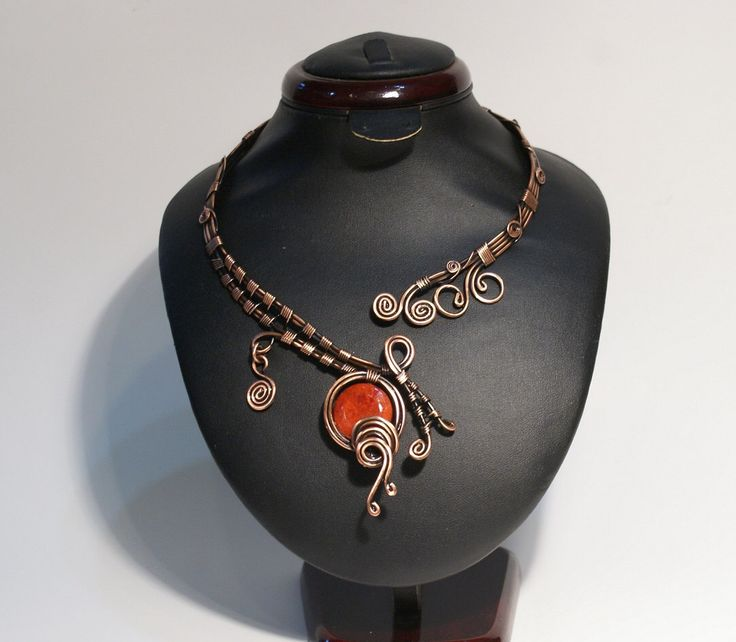 A personal favorite from my Etsy shop https://www.etsy.com/listing/242926081/coral-necklace-wire-wrapped-necklace-red
