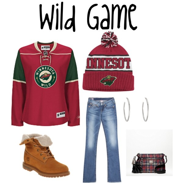 Minnesota Wild! (except purse and boots i like it)