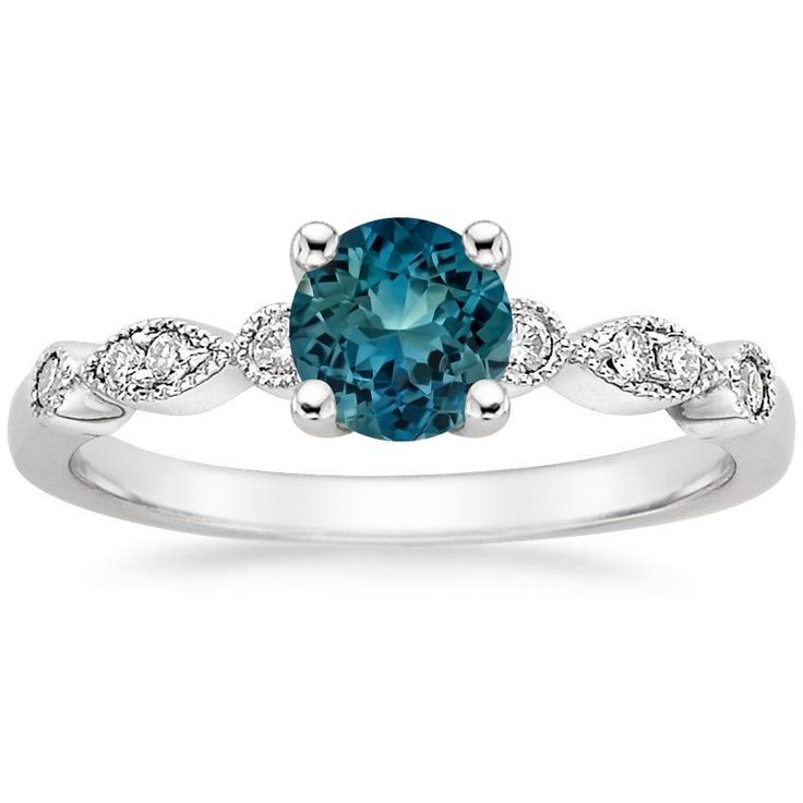 The 25 best Teal engagement ring ideas on Pinterest