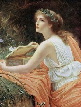 According to Greek mythology, Pandora was the first woman, created by Hephaestus on the request of God Zeus. She received special gifts from many Greek gods and goddesses, like beauty, intelligence, etc.