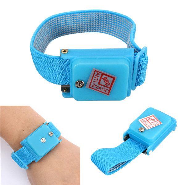 Antistatic Bracelet Electrostatic ESD Discharge Band Wrist Strap