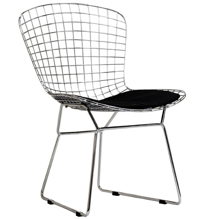 bertoia like wire side chair canteen pinterest. Black Bedroom Furniture Sets. Home Design Ideas