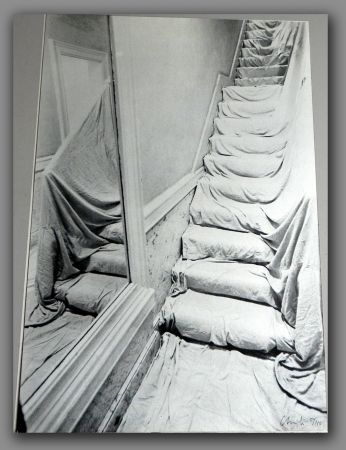 Javacheff Christo - Wrapped Staircase 1969