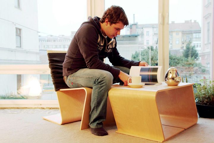 LLSTOL multi functional lounge chair